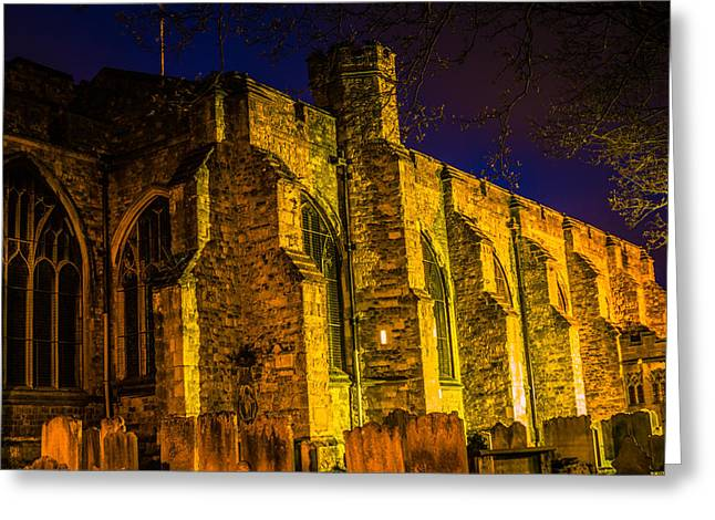 Kent Photography Greeting Cards - Maidstone Church Greeting Card by Dawn OConnor