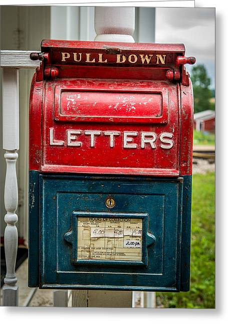 Cheap Art Greeting Cards - Mail Box Greeting Card by Paul Freidlund
