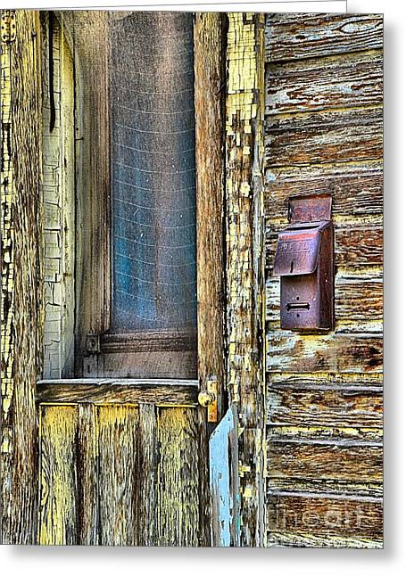 Screen Doors Greeting Cards - Mail Call Greeting Card by Lauren Hunter