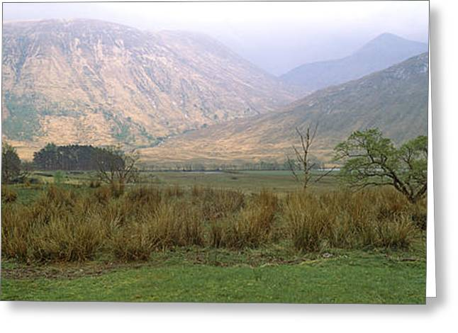 Glen Etive Greeting Cards - Mailbox On A Pole, Glen Etive Greeting Card by Panoramic Images