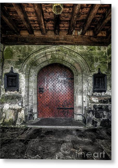 15th Greeting Cards - Main Entrance Greeting Card by Adrian Evans