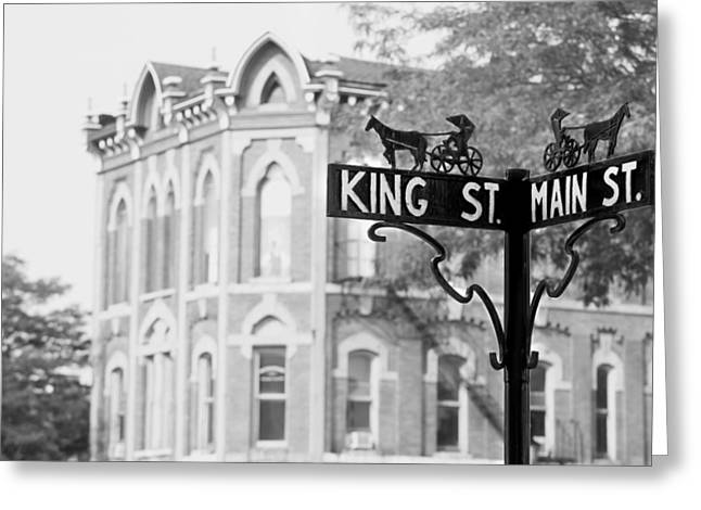 Main St Vi Greeting Card by Courtney Webster