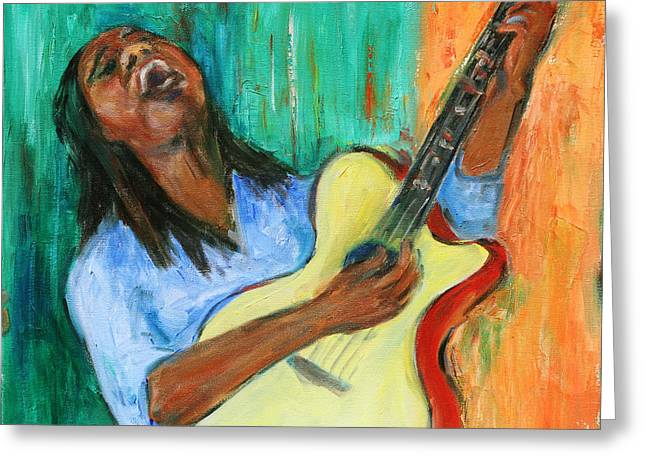 African-americans Greeting Cards - Main Stage I Greeting Card by Xueling Zou