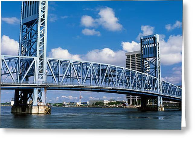 Ironwork Greeting Cards - Main Street Bridge, Jacksonville Greeting Card by Panoramic Images