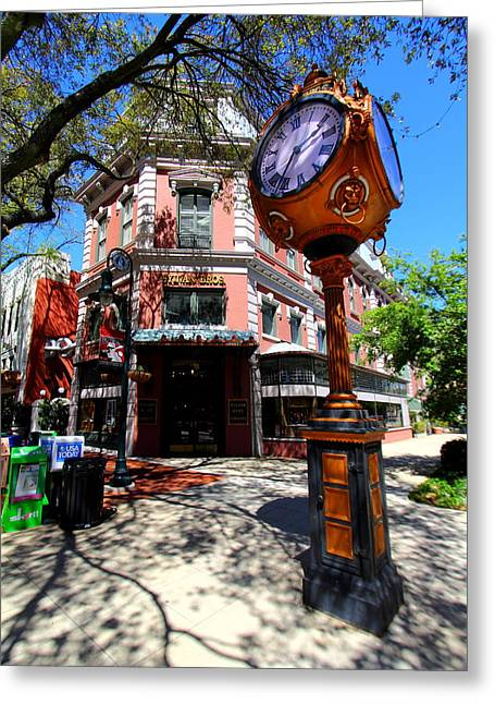 Jewlry Greeting Cards - Main Street Columbia Greeting Card by Joseph C Hinson Photography