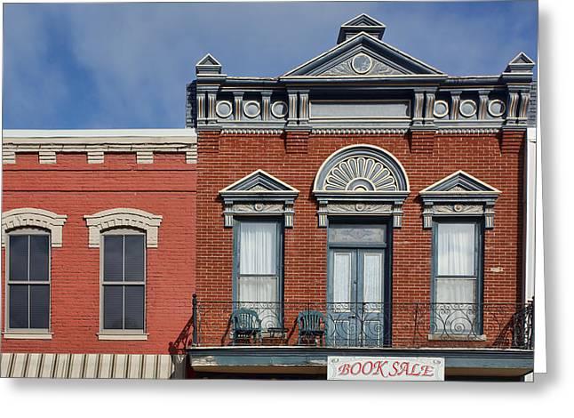 Finial Greeting Cards - Main Street - Plattsmouth - Nebraska Greeting Card by Nikolyn McDonald