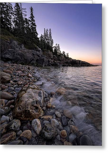 Maine Beach Greeting Cards - Maine Dawn II Greeting Card by Rick Berk