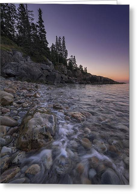 Maine Beach Greeting Cards - Maine Dawn Greeting Card by Rick Berk