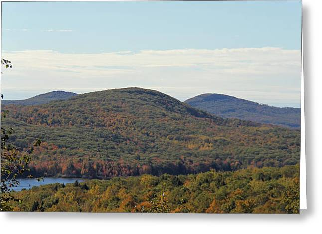 Maine Fall Greeting Card by Becca Brann