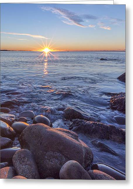 Color Colorful Greeting Cards - Mainly Water Greeting Card by Jon Glaser