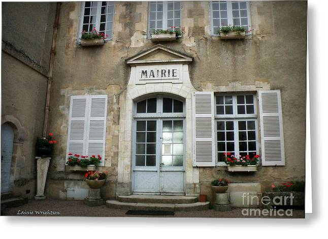 Mairie Greeting Card by Lainie Wrightson