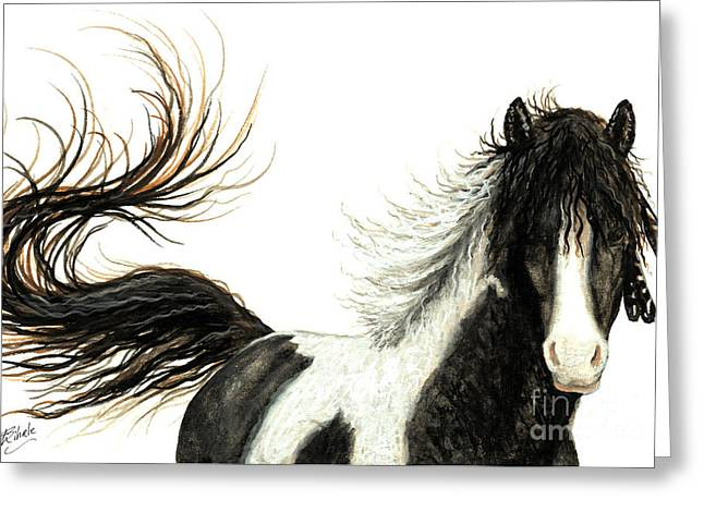 Mustang Art Greeting Cards - Majestic Horse Series #76 Greeting Card by AmyLyn Bihrle