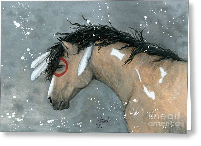 Curly Horse Art Greeting Cards - Majestic Horse Series 92 Greeting Card by AmyLyn Bihrle