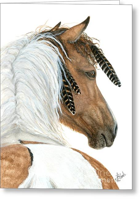 Majestic Horse Series 94 Greeting Card by AmyLyn Bihrle