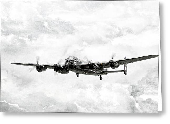 Merlin Greeting Cards - Majestic Lanc Greeting Card by Peter Chilelli