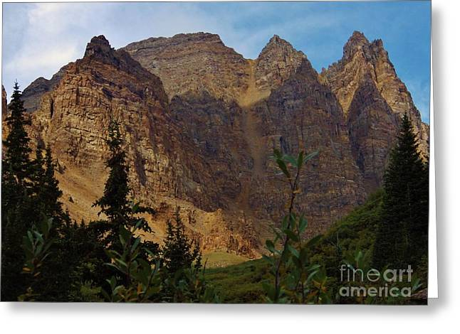 Majestic Mountain Greeting Card by Tonya Hance