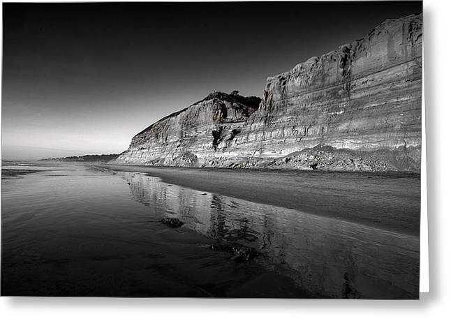 Ocean. Reflection Greeting Cards - Majestic Greeting Card by Peter Tellone