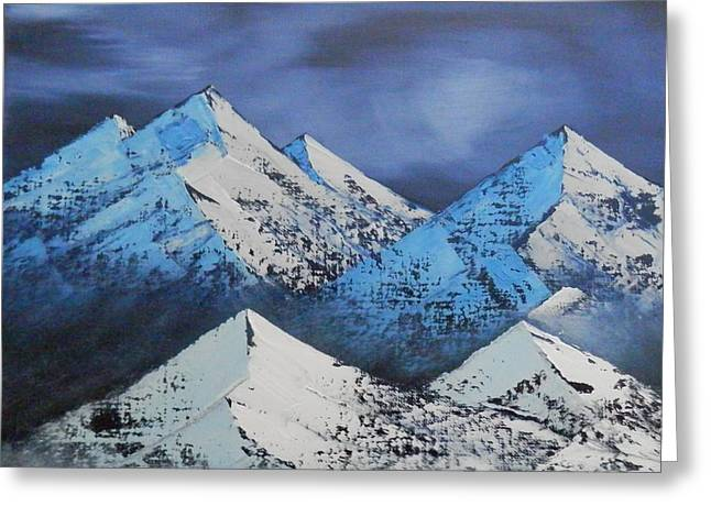 Majestic Rockies Greeting Card by Jared Swanson