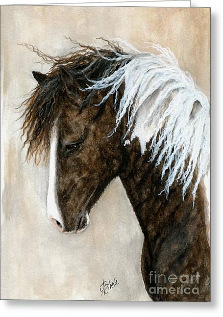 Buckskin Horse Greeting Cards - Majestic Series 91 Greeting Card by AmyLyn Bihrle