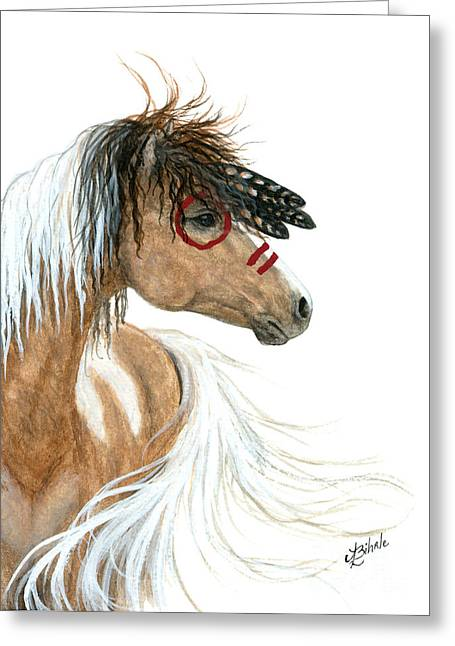 Curly Horse Art Greeting Cards - Majestic Series 93 Greeting Card by AmyLyn Bihrle