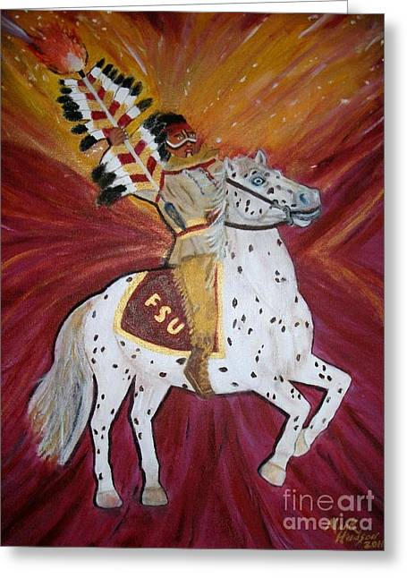 Majestic Spirit Greeting Card by Marcus Hudson