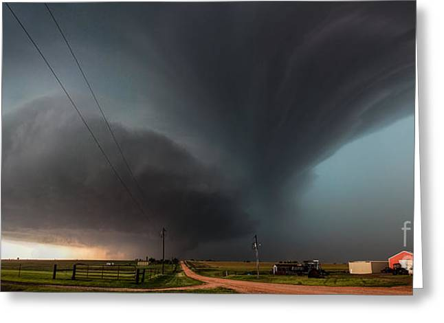 Marko Greeting Cards - Majestic supercell Greeting Card by Marko Korosec