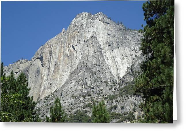 Majestic Yosemite Greeting Card by Kimberly Oegerle
