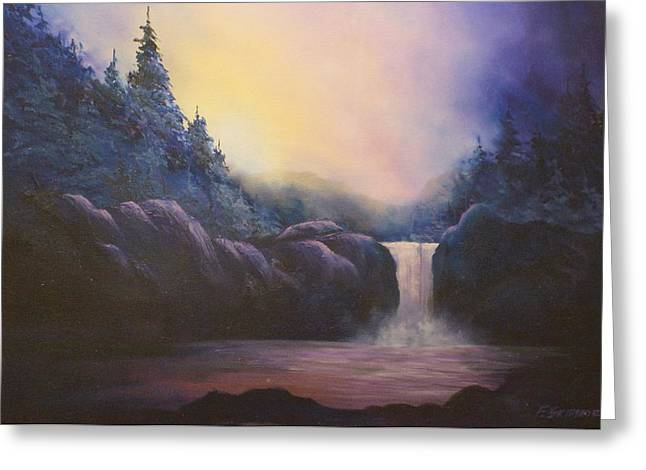 Magical  Light # 013 Greeting Card by Frederick  Skidmore