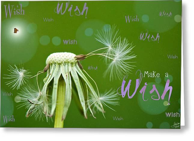 Make a Wish Card Greeting Card by Lisa Knechtel