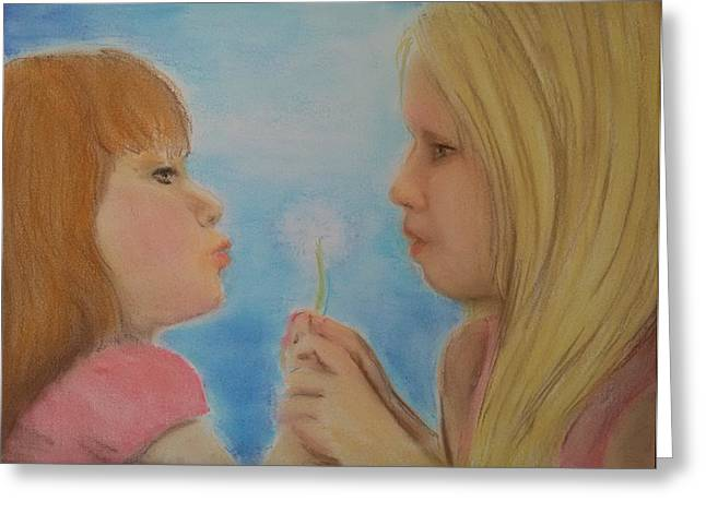 Wishes Pastels Greeting Cards - Make a Wish Greeting Card by Jami Cirotti