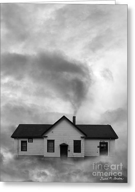 Dwelling Digital Art Greeting Cards - Making Clouds Greeting Card by David Gordon