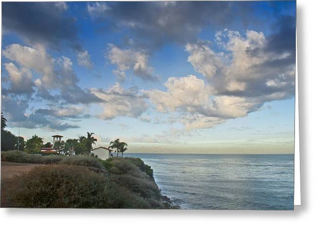 Palos Verdes Cove Greeting Cards - Malaga Cove Greeting Card by Joseph Hollingsworth