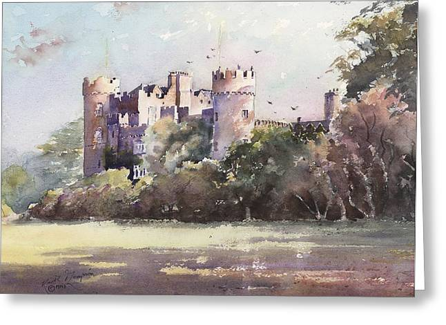 Www Greeting Cards Greeting Cards - Malahide Castle County Dublin Ireland Greeting Card by Keith W Thompson