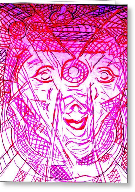 Multihued Greeting Cards - MaleKuma Greeting Card by Rahel TaklePeirce