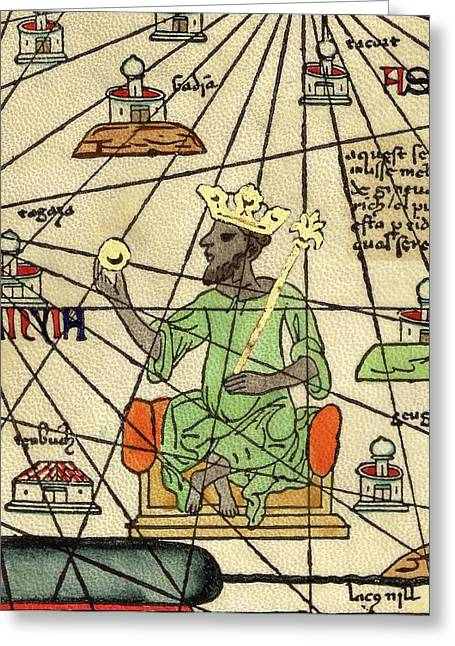 Mali Empire Greeting Card by Library Of Congress