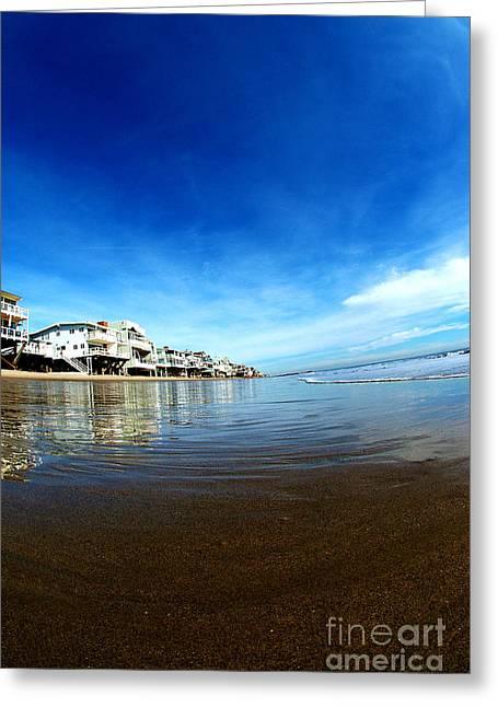 Stilt House Greeting Cards - Malibu 5 Greeting Card by Micah May