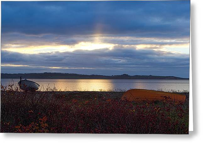 Eric Sloan Greeting Cards - Malle strand morn Greeting Card by Eric Sloan