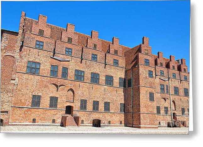 Malmo Greeting Cards - Malmohus castle 02 Greeting Card by Antony McAulay