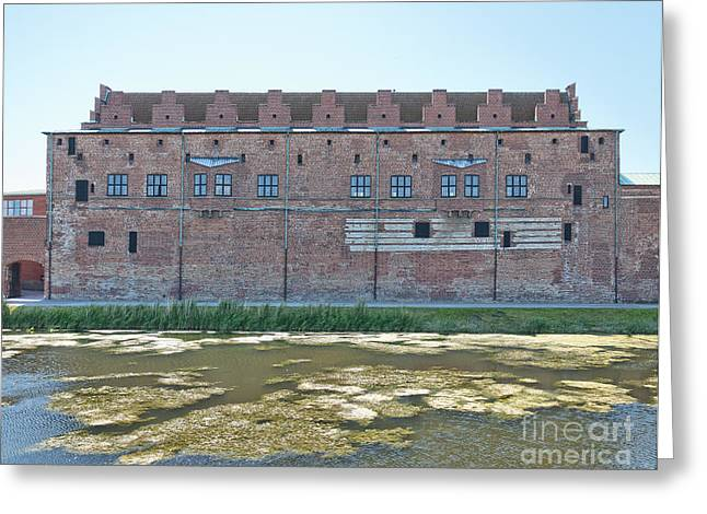 Malmo Greeting Cards - Malmohus castle 03 Greeting Card by Antony McAulay