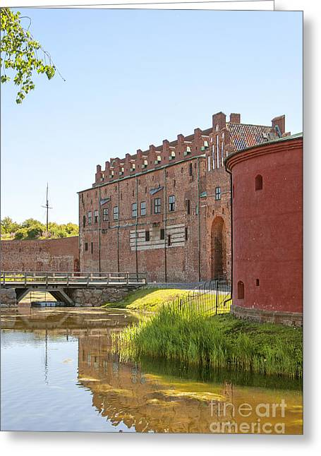 Malmo Greeting Cards - Malmohus castle 04 Greeting Card by Antony McAulay