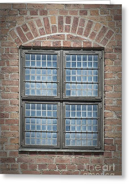 Malmo Greeting Cards - Malmohus Window Greeting Card by Antony McAulay