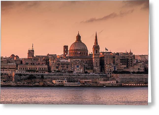 Maltese Greeting Cards - Malta 01 Greeting Card by Tom Uhlenberg