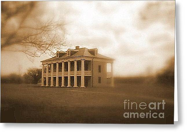 Home Of Andrew Jackson Greeting Cards - Malus Beauregard Historic Plantation Chalmette National Historic Civil War Battlefield Site Greeting Card by Michael Hoard