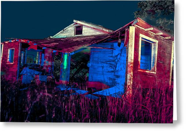 Abandoned Greeting Cards - Mamas Front Porch Greeting Card by Scott Campbell