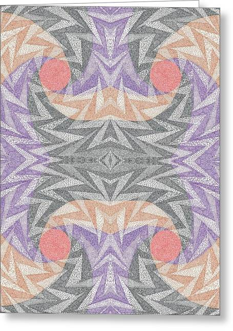 Aperture Drawings Greeting Cards - Mamm 0-1 Greeting Card by William Burns