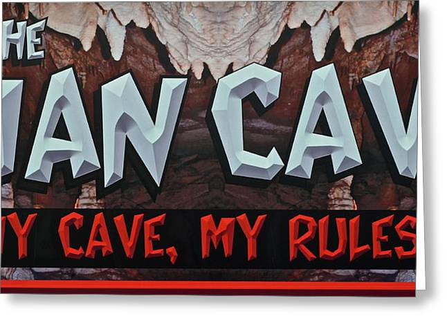 Man Cave Greeting Card by Frozen in Time Fine Art Photography