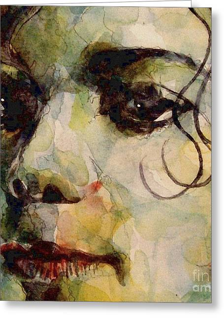 Jackson Greeting Cards - Man in the mirror Greeting Card by Paul Lovering