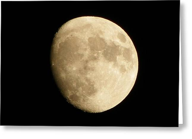 Jennifer Kimberly Greeting Cards - Man in the Moon Greeting Card by Jennifer Kimberly