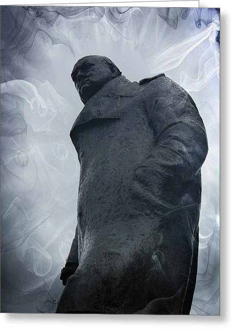 Conservative Greeting Cards - Man of destiny Greeting Card by Luigi Petro