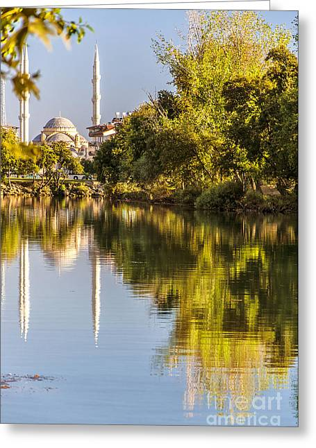Mohamed Greeting Cards - Manavgat Mosque 01 Greeting Card by Antony McAulay